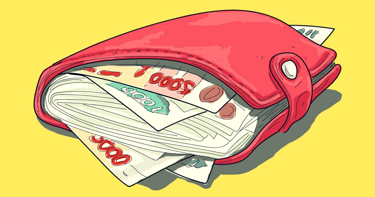 cum să-ți trântești portofelul cu suprasolicitare