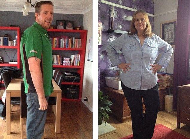 Cuplu de 800 de kilograme promite să slăbească