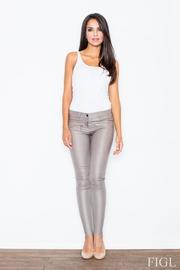 Pantaloni Jeans Elastic Slabire Dama Toamna Si Iarna Sablare Piele Art – NEER