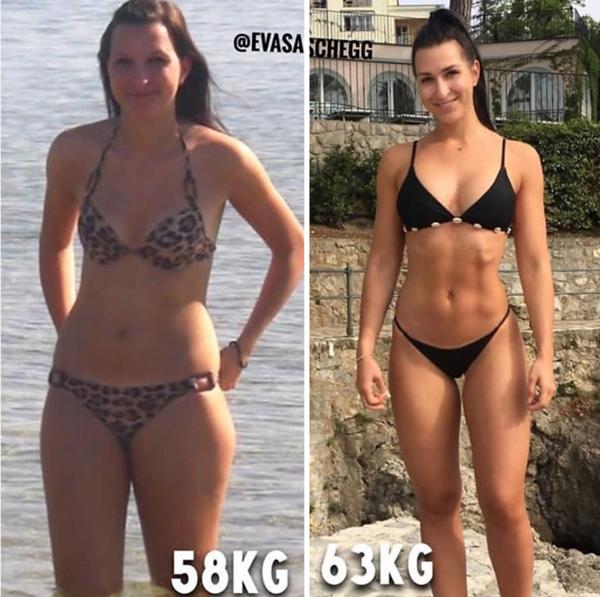 poți pierde centimetri și fără greutate