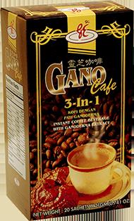 delgada ganoderma infuzat cafea de slăbire