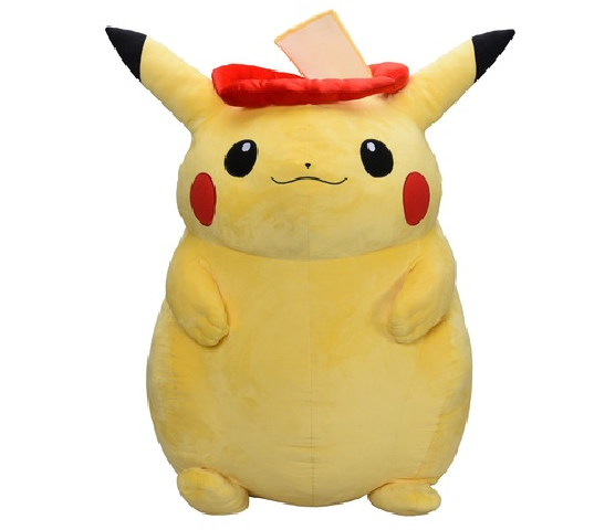 pikachu pierde in greutate)