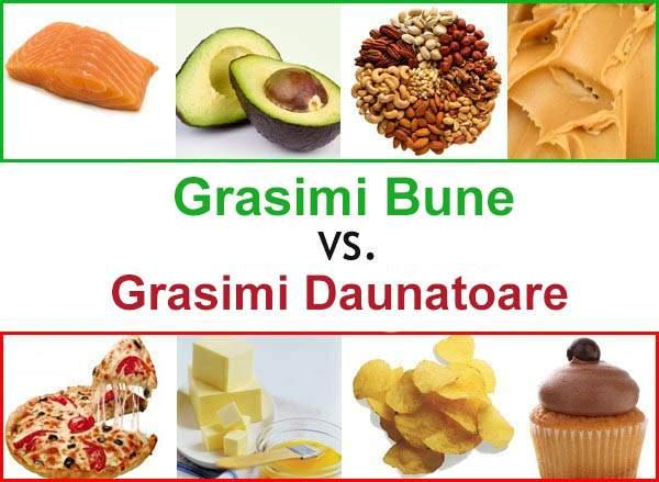 Grasimi versus carbohidrati: la ce sa renuntam pentru a slabi