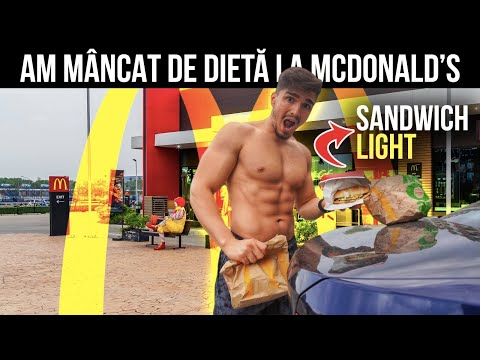 cum să mănânci mcdonalds și să slăbești)