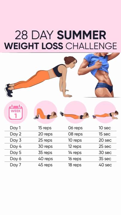 1 lună provocare slim down
