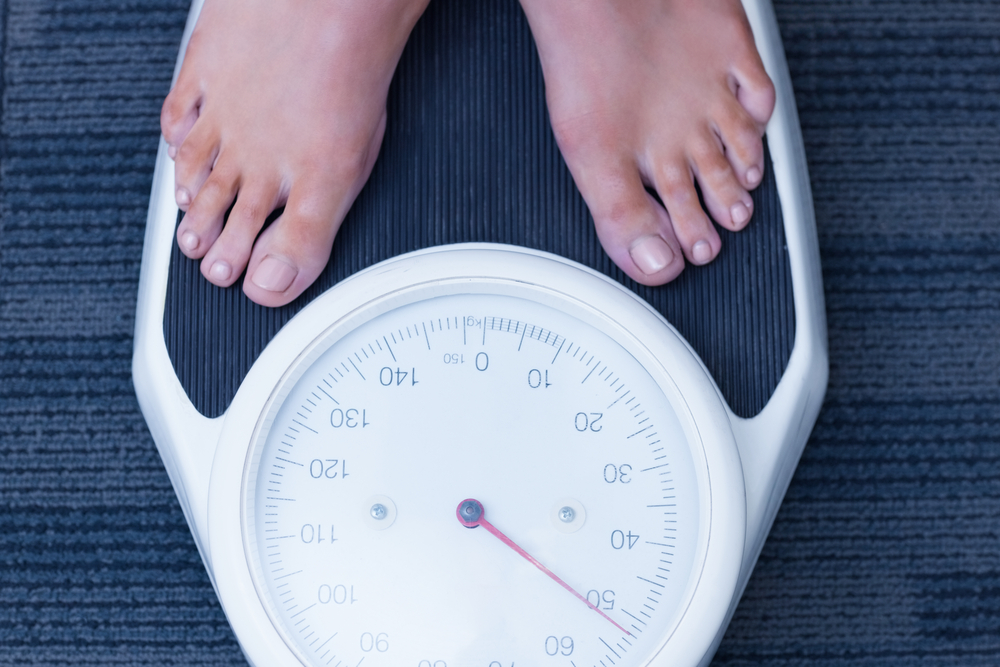 scădere în greutate sau pierdere în greutate)