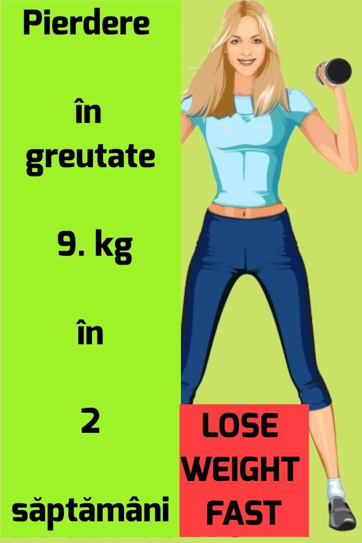 1 săptămână tabără de pierdere în greutate