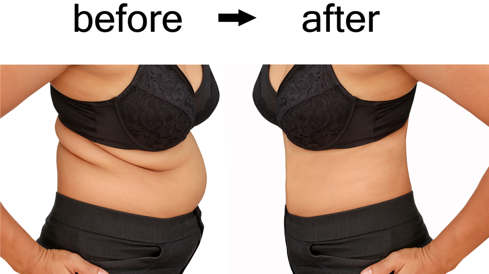 Pierdere în greutate de 40 kg în 6 luni)