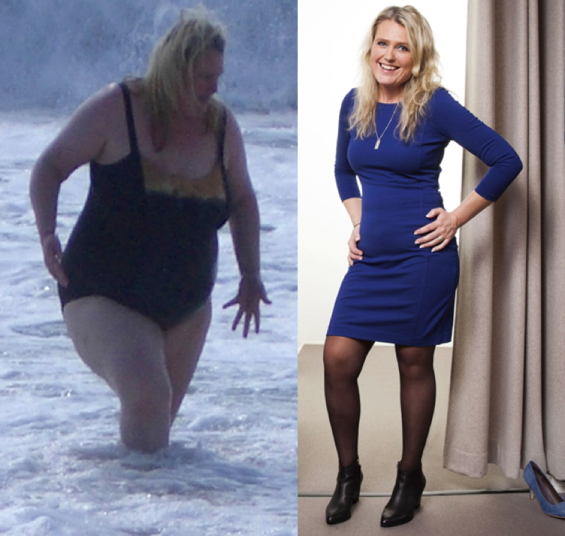 apăsând poveștile de succes privind pierderea în greutate