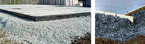 betonul pierde în greutate pe măsură ce vindecă)