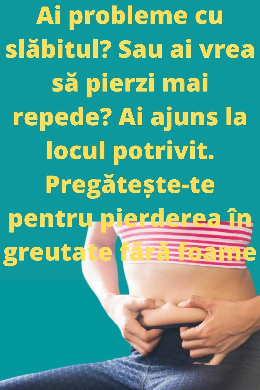 probleme de pierdere în greutate)