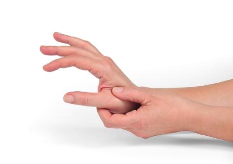 arsură de grăsime la încheietura mâinii