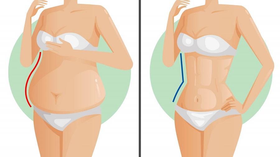 cum să slim jos pe burtă Pierdere în greutate 5 kg într-o lună