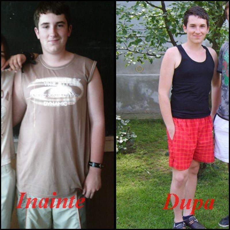 """Am slabit 16 kilograme in 8 saptamani"""
