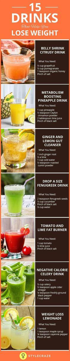 cele mai bune băuturi diy pentru pierderea în greutate