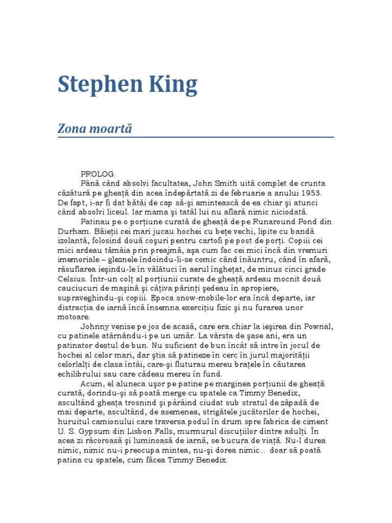 Stephen King - Zona Moartă