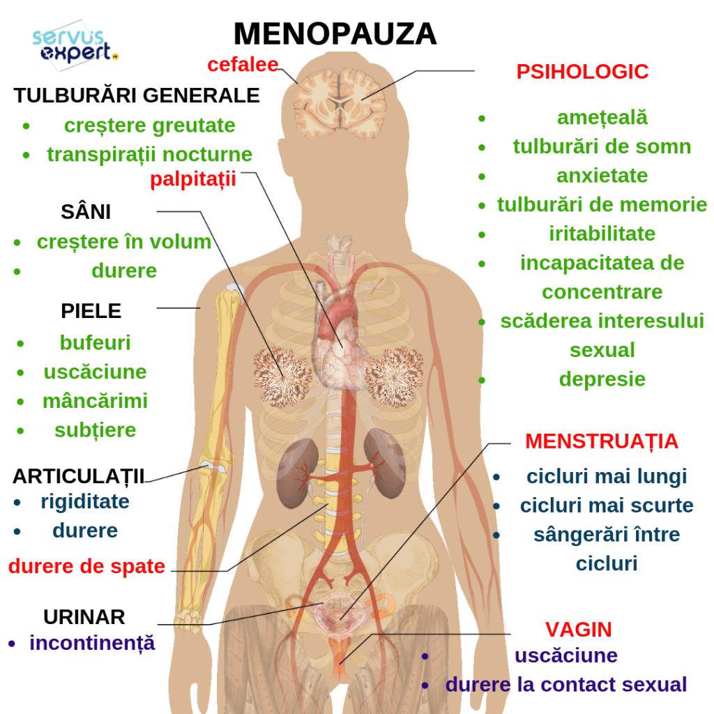 Totul despre menopauză