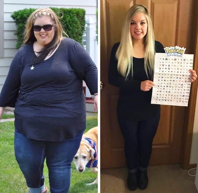Pierde în greutate de 40 kg pe an