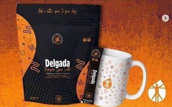 delgada slăbind cafea