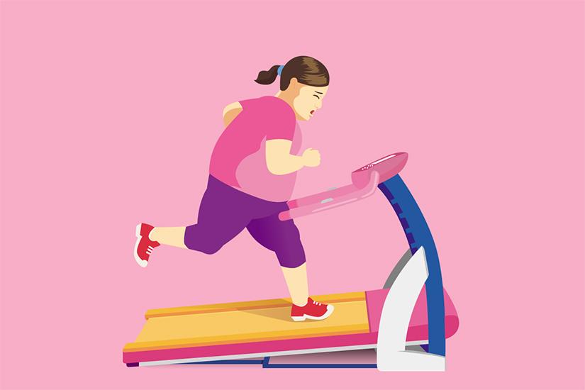 perioadele se opresc din cauza pierderii în greutate