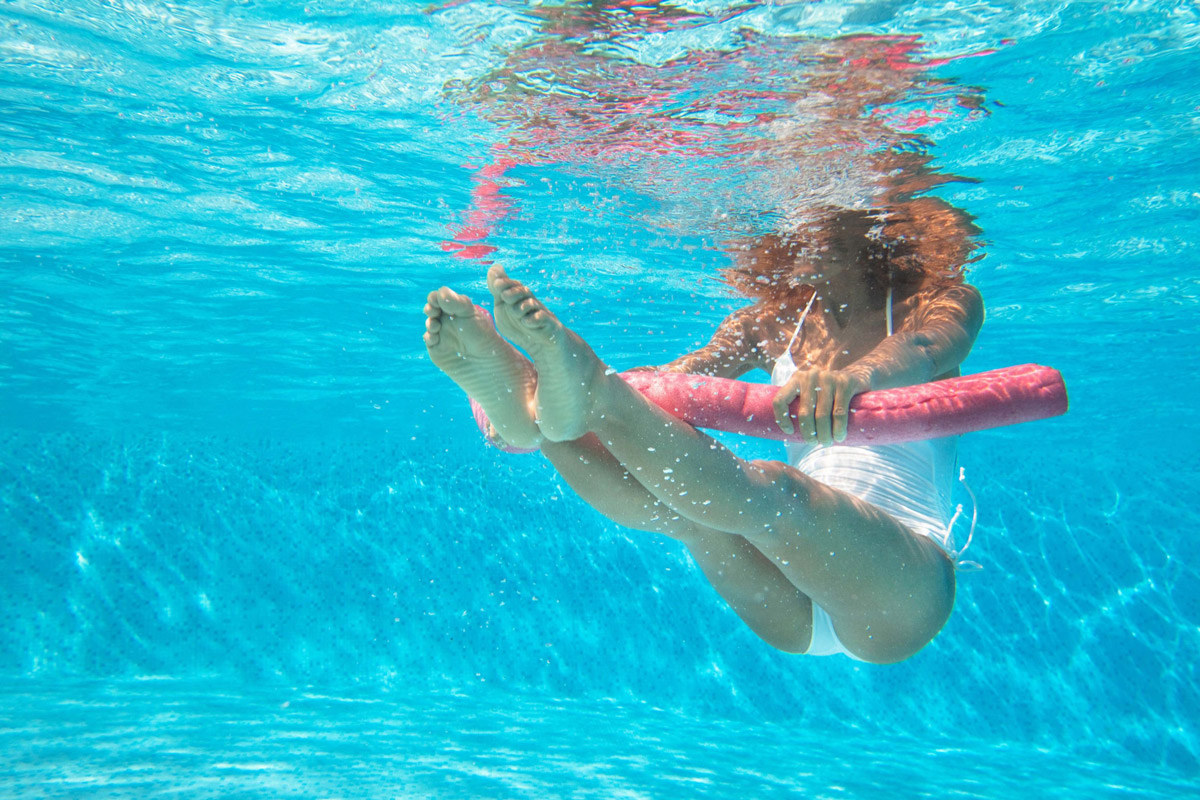 pierdeți grăsimea corporală în piscină