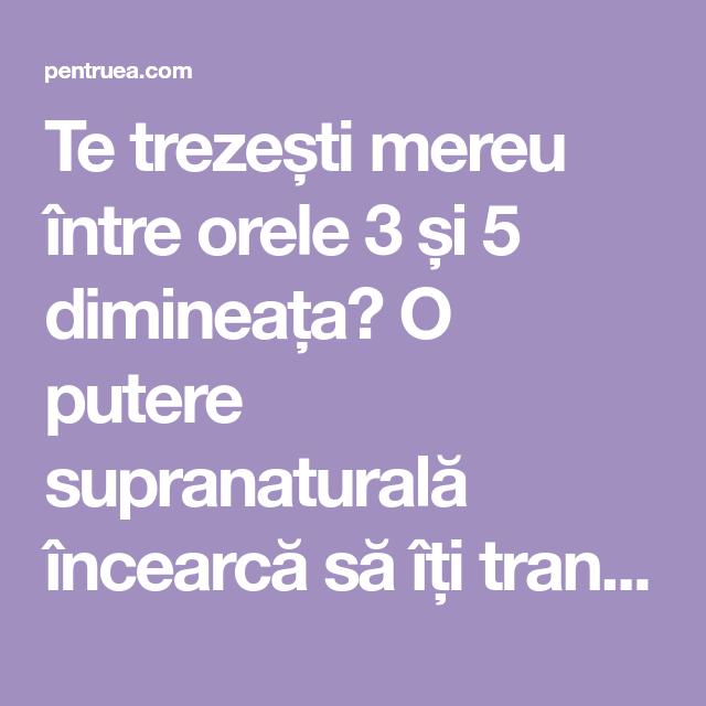 pierdere în greutate supranaturală)