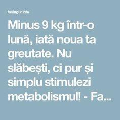 sfaturi de pierdere în greutate pentru metabolismul lent