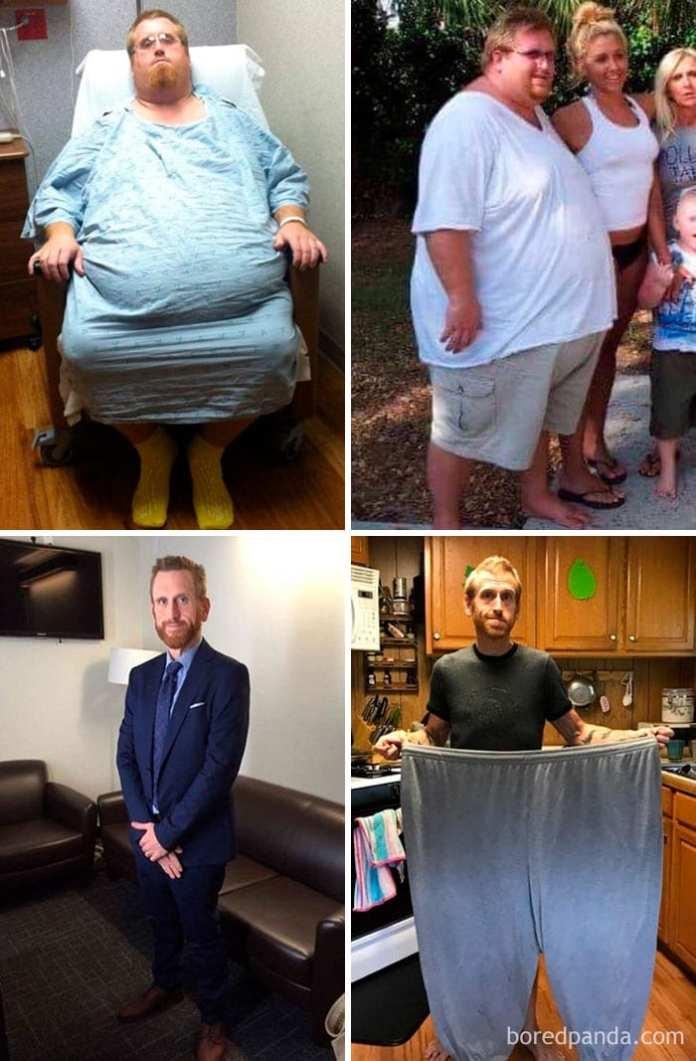 poveștile de succes pierd în greutate)