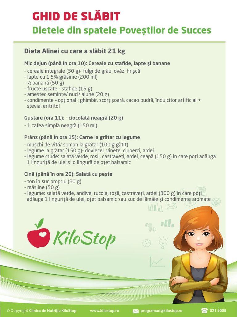 plan nutritional pentru slabit gratis)